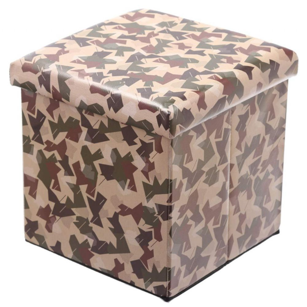 Camouflage Boys | Girls Bedroom Storage Box with Seat